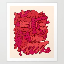 Head No.173 Art Print