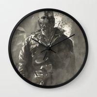 bane Wall Clocks featuring TDKR-bane by Shijie&Yuyu