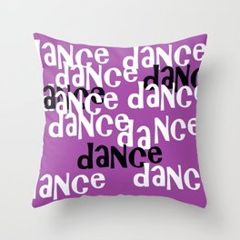 love to dance Throw Pillow
