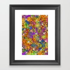 Stained Glass look Series 4 Framed Art Print