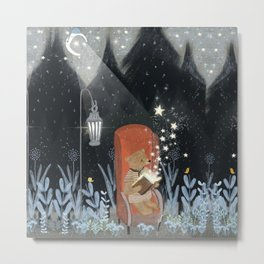 the little book of stars Metal Print