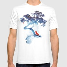 The last apple tree LARGE Mens Fitted Tee White