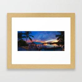 Freeport Paradise Framed Art Print
