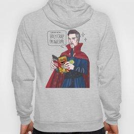 Doctor Strange reading Doctor Strange Hoody