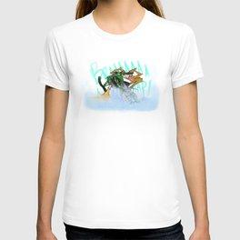 Wild Sasquatch Sledder T-shirt