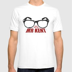 Mr Kent White Mens Fitted Tee X-LARGE