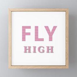 Fly High Framed Mini Art Print