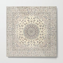 N60 - Moroccan Oriental Traditional Farmhouse & Boho Style Artwork Metal Print