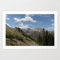 Clark Peak Art Print