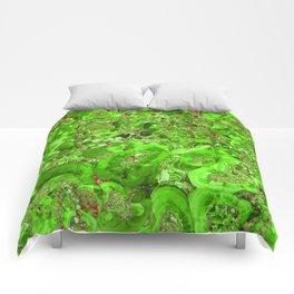 Marble Emerald Green Comforters