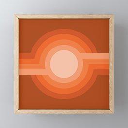 Moonspot - Red Rock Framed Mini Art Print