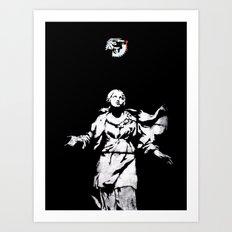 Holy Guns Art Print