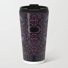 Modern Tribal Metal Travel Mug