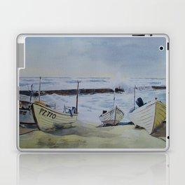 Sennen Cove Fishing Boats Laptop & iPad Skin