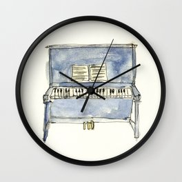 The Piano Wall Clock