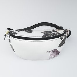 Blackberry Spring Garden - Birds Bees and Flowers Fanny Pack