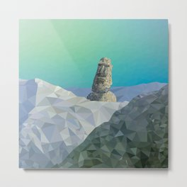 This is Not Easter Island Metal Print