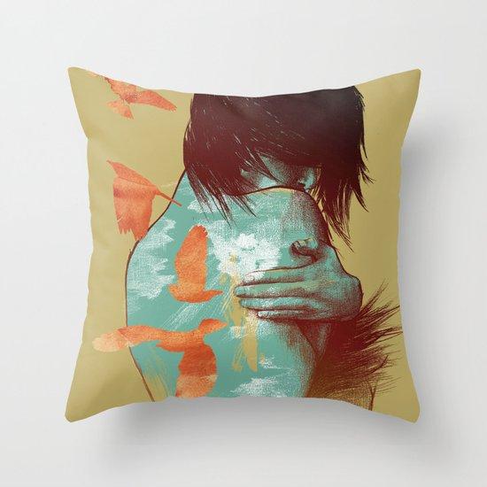 See It Through Throw Pillow
