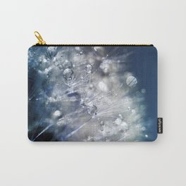 New Year's Blue Champagne Carry-All Pouch