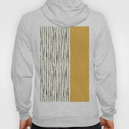 Gold Zebra Stripes Hoody