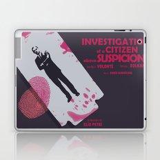 Investigation of a Citizen above Suspicion - Italian Masterpiece Movie Poster Laptop & iPad Skin