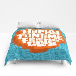happy funtime friend club Comforters
