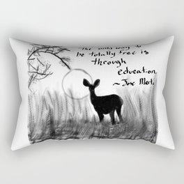 Total Freedom Rectangular Pillow