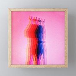 The Refracted Woman Framed Mini Art Print