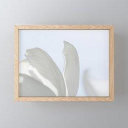 white dream 0.1 Framed Mini Art Print