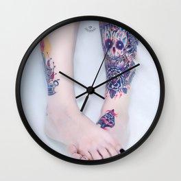 Girls of Milan #01 Wall Clock