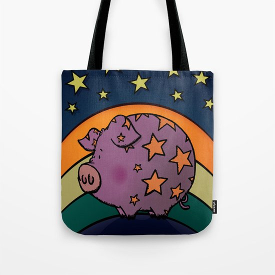 Peter The Magic Pig Tote Bag