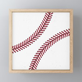 Fantasy Baseball Super Fan Home Run Framed Mini Art Print