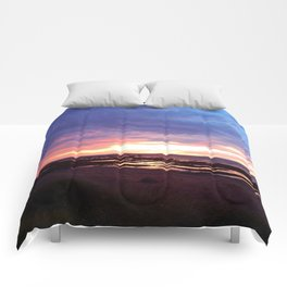 Cloudy Sunset Comforters