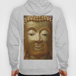 Buddha Head Illustration Design gold Hoody