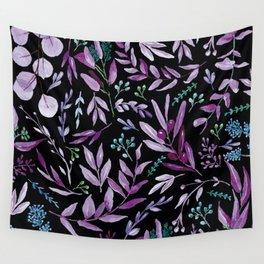 Eucalyptus Violet Wall Tapestry