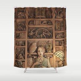 Magpie Shower Curtain