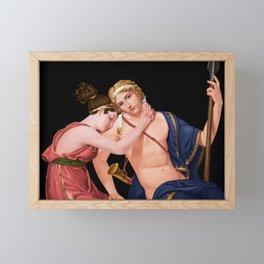 Farewell 2 digital painting Framed Mini Art Print