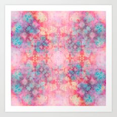 Candy Outburst Art Print