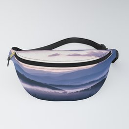 Ultra Violet Lights Fanny Pack