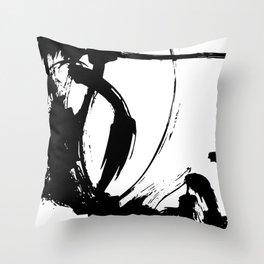 Brushstrokes No.15A by Kathy Morton Stanion Throw Pillow