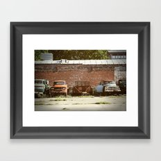 Bone Yard Framed Art Print