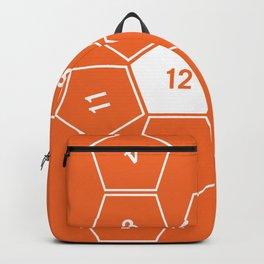 Orange Unrolled D12 Backpack