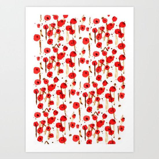 Début du printemps Art Print