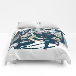 Goalie - Ice Hockey Player Comforters