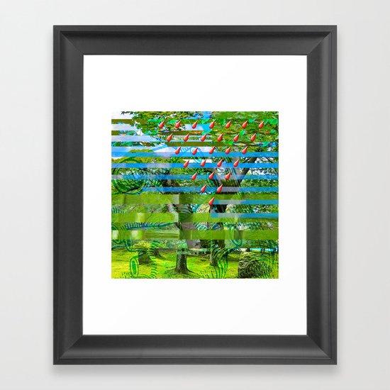 Landscape of My Heart (segment 2) Framed Art Print