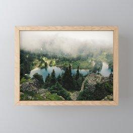 Rainier Eunice Lake Framed Mini Art Print