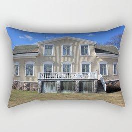The Old House Rectangular Pillow