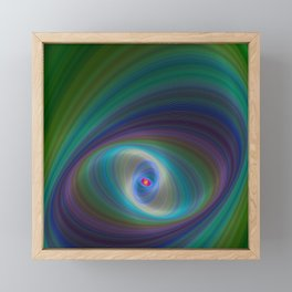 Elliptical Eye Framed Mini Art Print