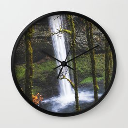 Splash of Orange Wall Clock