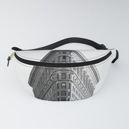 Flatiron Black and White NYC Fanny Pack